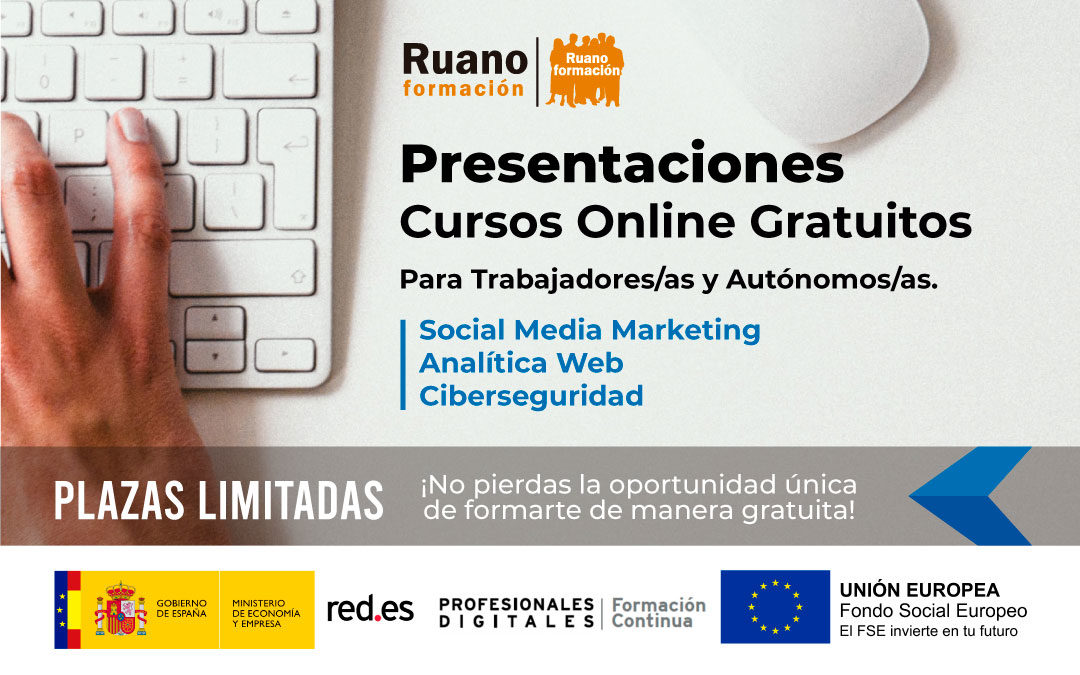 Presentaciones Proyecto Social Media Marketing, Analítica Web y Ciberseguridad